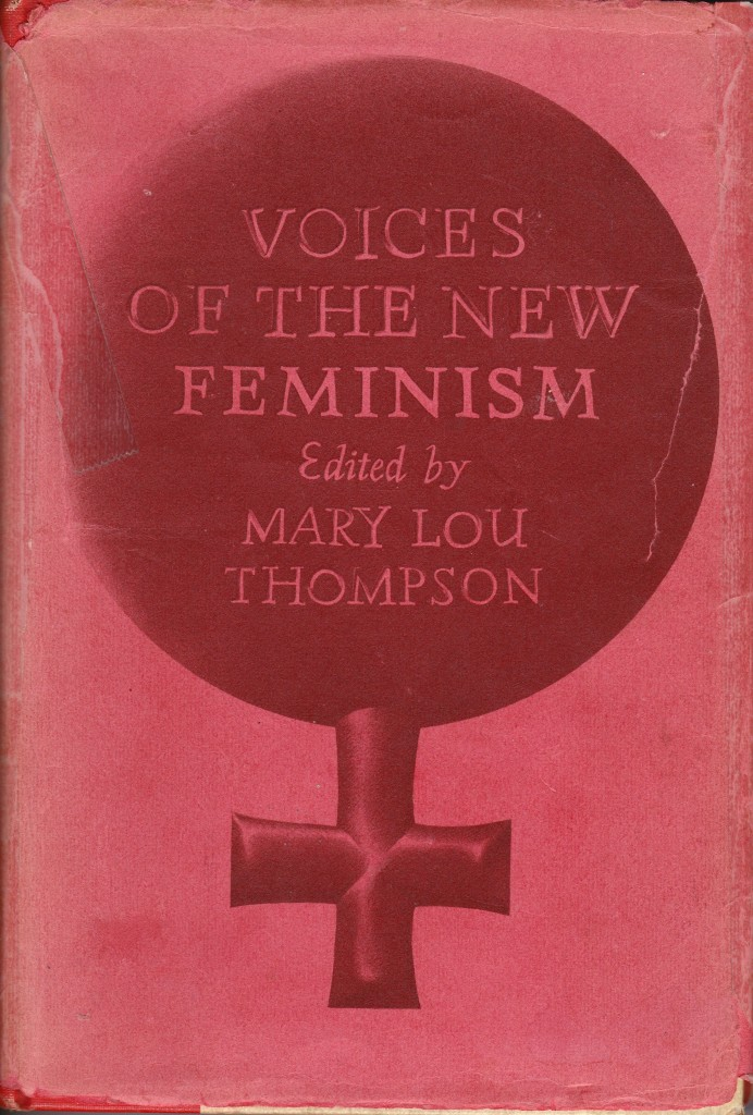 Voices of the New Feminism, Front Cover
